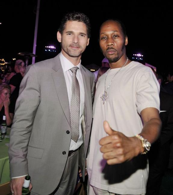 Eric Bana and RZA at the after party of the premiere of